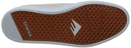 Emerica the Romero, Scarpe da Skateboard Uomo White