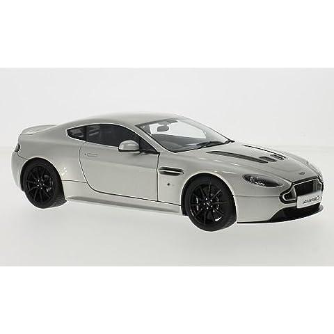 Aston Martin V12 Vantage S, argento, RHD, 0, modello di automobile, modello prefabbricato, AutoArt 1:18 Modello esclusivamente Da