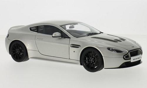 Aston Martin V12 Vantage S, argenté, RHD, 0, voiture miniature, Miniature déjà montée, AutoArt 1:18