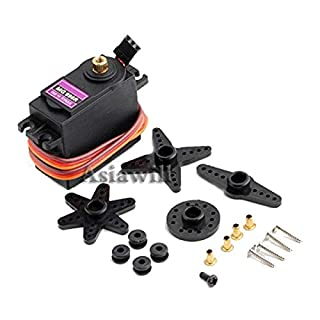 Asiawill MG996R Metal Gear RC Digital Servo Motor for Futaba JR Car RC Helicopter