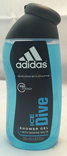 3x Adidas Showergel 250 ml Ice Dive Duschgel von Adidas Shower Gel