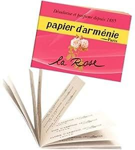 papier d 39 armenie the la rose booklet beauty. Black Bedroom Furniture Sets. Home Design Ideas