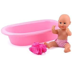 Dolls World Baby Bathtime