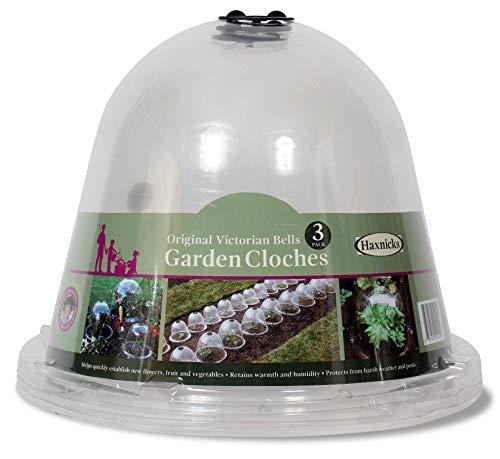 Pflanzenschutz-Hauben 10er Set Gartenglocke Anzuchtglocke Pflanzenhut Ziehglocke