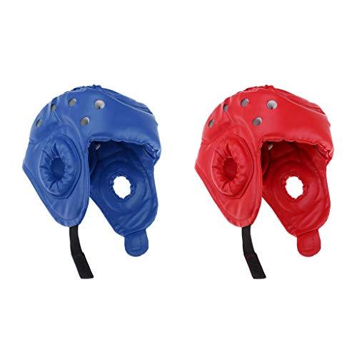 Toygogo 2 Stücke Atmungsaktive Schaum Helm PU Kopfbedeckungen Schutz Gesichtsschutz -