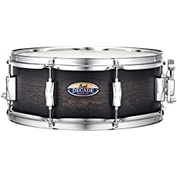 "Pearl 14"" Decade Maple Snare Drum DMP1455S/C262 Satin Black Burst"