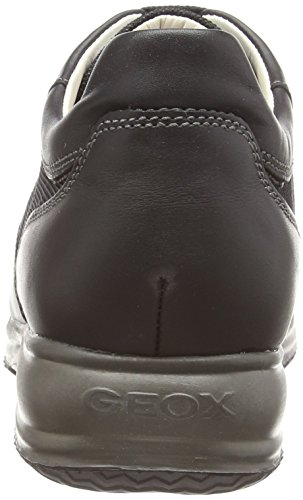 Geox U Happy G, Chaussons montants homme Noir (Black C9997)