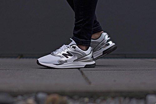 New Balance WL1550-MB-B Sneaker Damen silber weiß