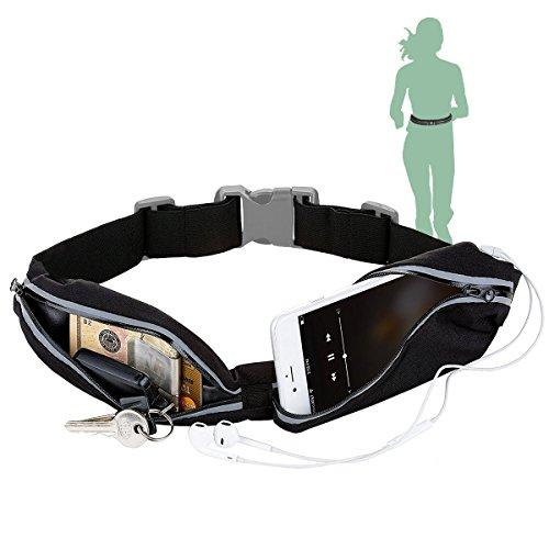 ORAELE Sport Jogging Gürtel Hüfttasche Laufgürtel Taille Tasche Running Belt für Geld Schlüssel, iPhone 8 Plus Samsung Galaxy S8 Plus Huawei P9 Lite/P10 Smartphone bis zu 6
