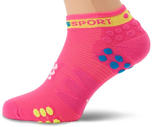 V3 Accessory Pack (Compressport Pro Racing Socks V3 Run Low Fluo Pink 42-44)
