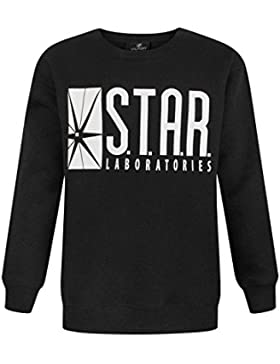 Noisy Sauce Flash TV Star Laboratories Boy's Sweatshirt