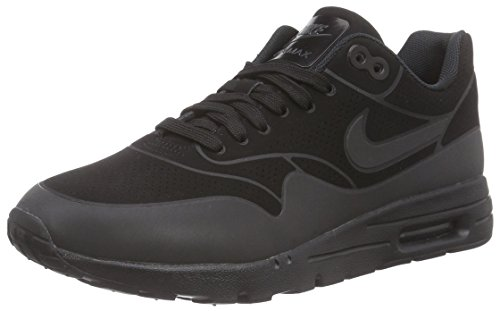 Nike Air Max 1 Ultra Moire, Damen Sneakers, Schwarz