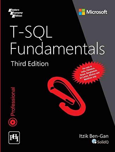 T-Sql Fundamentals : Third Edition