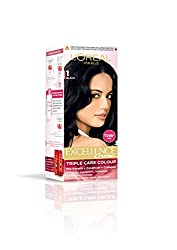 LOreal Paris Excellence Hair Color Small Pack No.1, Natural Black, 24ml+26g