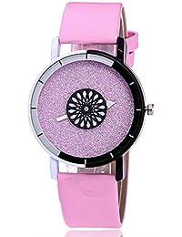 ZXMBIAO Reloj De Pulsera para Mujer, Reloj De Cuarzo, De Cuero, Color Caramelo