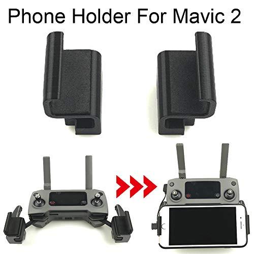 Sunnymi Mini Portable Agrandira téléphone portable support téléphone portable support pour DJI Mavic 2Pro/Zoom Drone, ordinateur de bureau multi-usages rotatif universel pour tablette Base pliable Lazy téléphone suppo