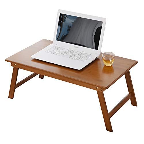 Mode nach Hause ZHILIAN® Schlafzimmer Kleine Quadratische Klapptisch Laptop-Tisch Aus Holz Wohnzimmer Esszimmer Und Kaffee Und Tee Tisch Studentenwohnheim Studie Tisch (größe : 60x40cm) -