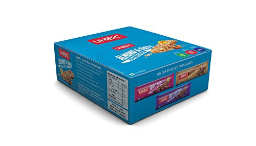 Unibic Snack Bar, Almond and Oats, 360g