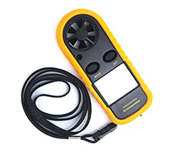 Anémomètre compact numérique mini-station météo mesureur du vent