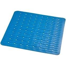 Ridder Playa 684030-350 Tapis de douche Bleu fluo 54 x 54 cm