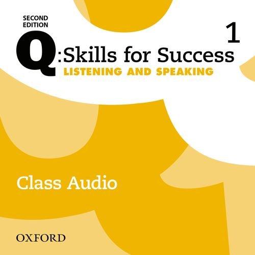 Q: Skills for Success: Level 1: Listening & Speaking Class Audio CD (x3)