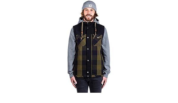 bc8df46c8aa Sweater Hooded Zip Men Dravus Blocked Feedback Zip Hoodie: Amazon.co ...