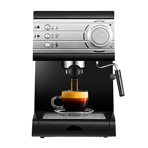 tionale Espressomaschine, Cappuccino-Maschine, Edelstahldekoration, für den Haushalt geeignet, halbautomatische Dampfmilchmaschine. ()