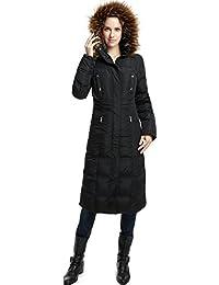 "BGSD Women's ""Lillian"" Water Resistant Long Down Coat"