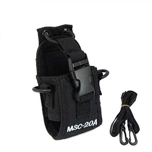 MSC-20A Walkie Talkie Case Holster para GP328+, Wouxun KG-UV8D–Walkie Talkie Cb Radio Baofeng UV-5R UV-5RE Plus UV-B5UV-82
