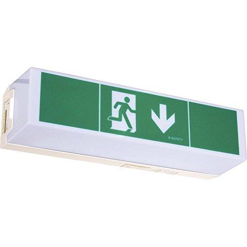 B-Safety Fluchtweg-Notbeleuchtung Deckenaufbaumontage, Wandaufbaumontage BR 565 030