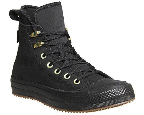 Converse All Star Waterproof Hi Damen Sneaker, Größe 36.5 EU, Farbe Schwarz