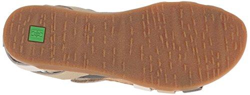 El Naturalista Nf42 Soft Grain Zumaia, Sandali Open Toe Donna Multicolore (Piedra Mixed)