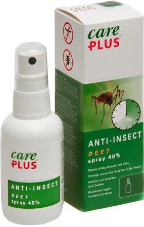 Care Plus DEET Ant-Insekt Spray 40, 60 ml -
