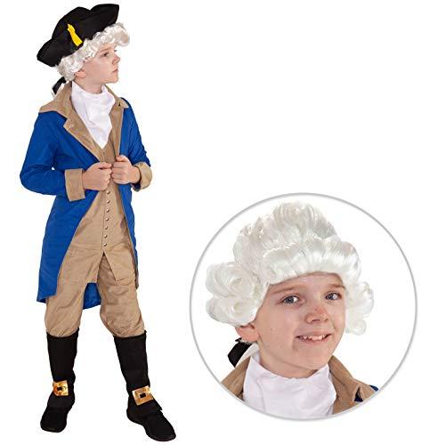 Unbekannt Kinderpräsident George Washington Kostüm Kinder Geschichte Amerikanischer -