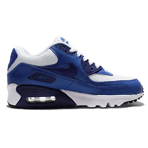 Nike Jungen Midnight Navy / White-Black Turnschuhe white deep royal blue black 105