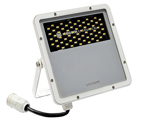 Secom Protek Proyector Industrial LED, 50 watts, Blanco