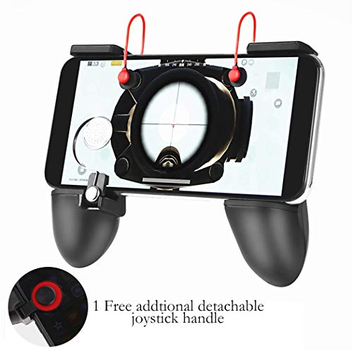 """Game Controller Kit, VAWcornic Sensitive Schieß- und Zieltasten L1R1, Mobile Gaming Grip Mobile Gamepad kompatibel mit 4.5"""" zu 6.4"""" Smartphone"""