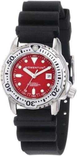 Momentum - 1M-DV83R1B - Montre Femme - Quartz Analogique - Bracelet Caoutchouc Noir