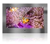 innovativTV Bad TV Edelstahldesign   22'/56cm   DVB-C/S2/T2 inkl. CI-Slot   Auf-/Unterputz/VESA...