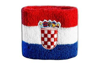 Flaggenfritze® Schweissband Kroatien, 2er Set