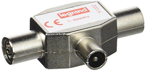 Legrand leg91002TV SPLITTER geschirmt 1Stecker Eingang/2Buchse Ausgänge Durchmesser 9,52
