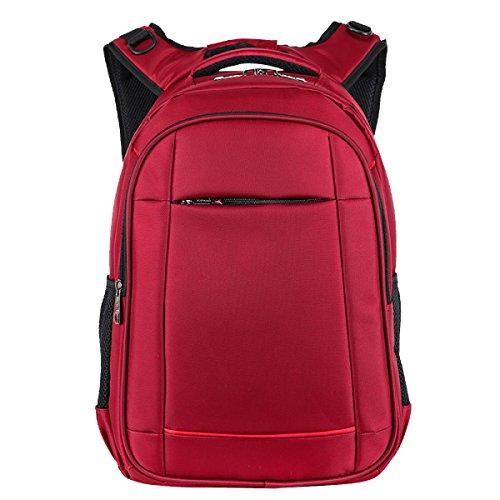 Sacchetto Di Stile Strada Urbana Yy.f Uomini E Donne Zaino Casuale Resistente Zaino Grande Capacità Di Acqua Modelli Sacchetto Di Esplosione Multi-colore Red