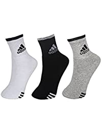 orange enterprise Men's Cotton Ankle Length Socks, Free Size (Set of 3) (Multicolour)