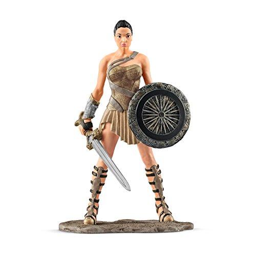 Schleich DC Comics - Figura Superheroína Wonder Woman, 18,5 cm 3