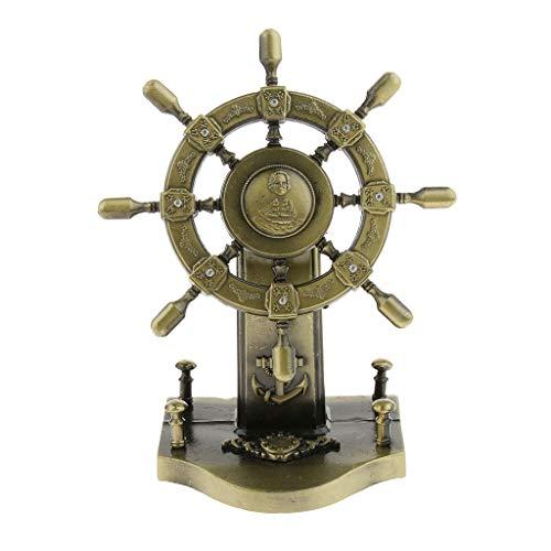 FLAMEER Freiheitsstatue Figure Souvenir Ornament 15,5 cm aus Metall für Zuhause/Schreibtisch Tischdekoration - Bronze 10x6x12 CM