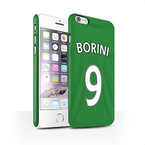 Officiel Sunderland AFC Coque / Clipser Matte Etui pour Apple iPhone 6 / Pack 24pcs Design / SAFC Maillot Extérieur 15/16 Collection Borini