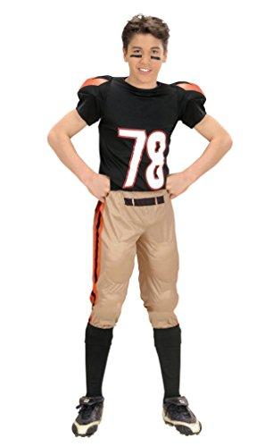 kostüm Football Spieler, 140 (Sport-spieler Halloween-kostüm)