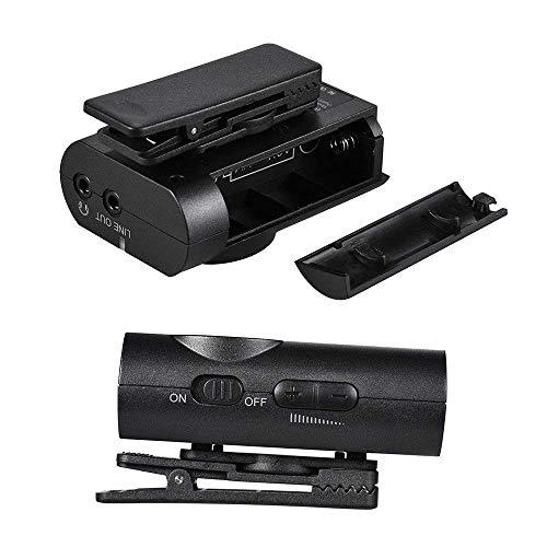 Boya BY-WM4 Microphone sans fil Lavalier avec écran en temps réel avec étui rigide pour appareil photo reflex numérique Canon Nikon Sony Cam... 5