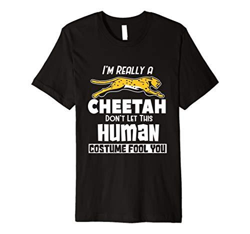 Ich bin wirklich ein Cheetah T-Shirt–Halloween Kostüm Geschenke Shirt