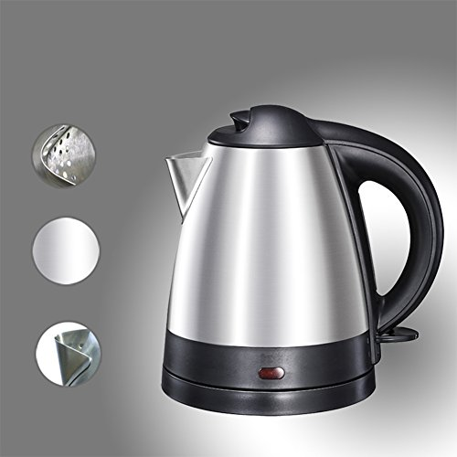 Z&X ZX Electric Kettles Home Food Grade Stainless Steel Electric Kettle Automatic Power Off Kettle Cordless Kettle Quickly Boil 1.2L 1500W Small Kitchen